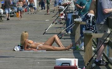 私も釣って!